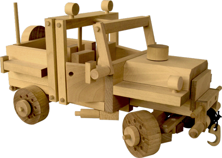 Wooden Toy - Car 2