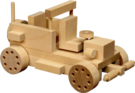 Wooden Toy Car 1