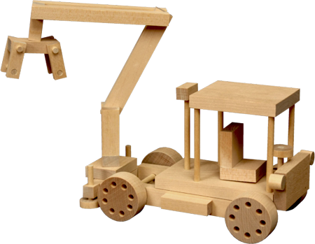 Wooden Toy - Log Truck
